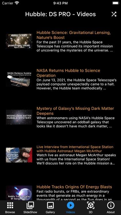 Hubble: Deep Space PRO screenshot-7