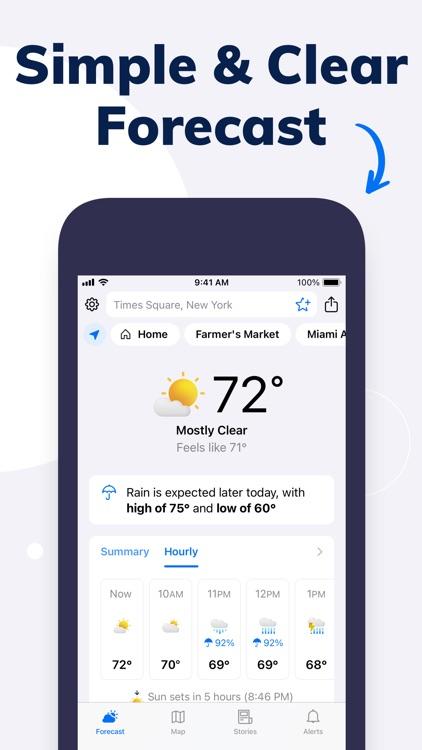 Tomorrow.io: Weather Forecast screenshot-0