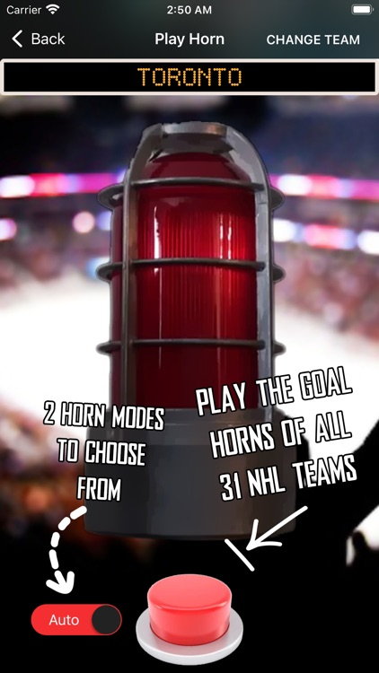 Hockey Horns Live
