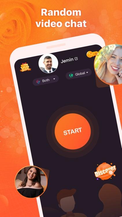 Bloomer-random video chat screenshot-0