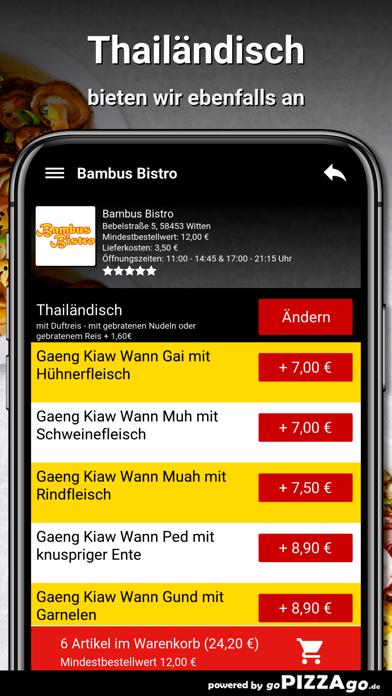 Bambus Bistro Witten screenshot 6