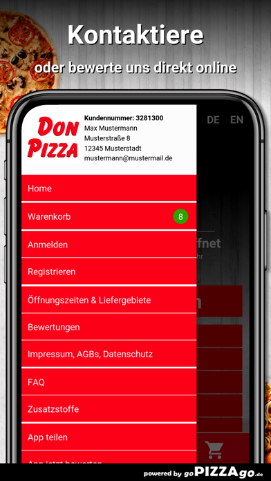 Don Pizza Oldenburg screenshot 3