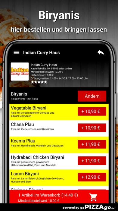 Indian Curry Haus Wiesbaden screenshot 6