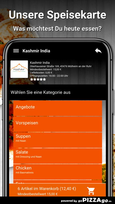 Kashmir India Mülheim screenshot 4