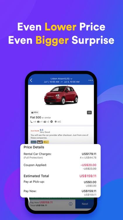 QEEQ Car Rental -  Rental Cars screenshot-3
