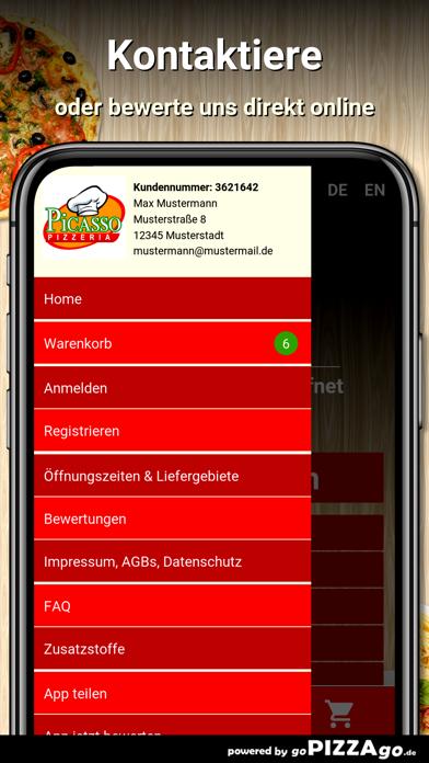 Pizzeria Picasso Oldenburg screenshot 3