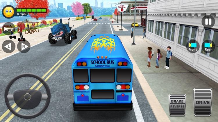 School Bus Simulator Drive 3D screenshot-5