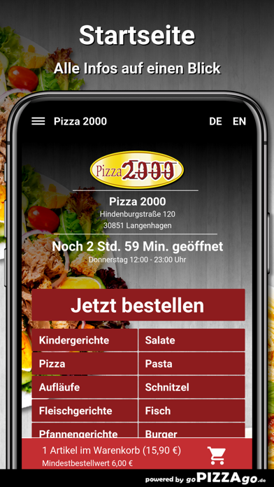 Pizza 2000 Langenhagen screenshot 4