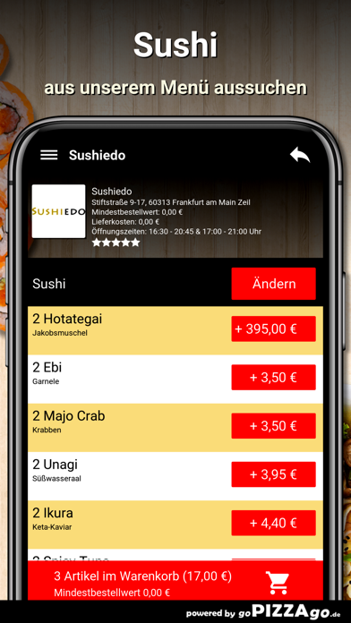 Sushiedo Frankfurt screenshot 5