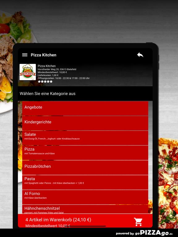 Pizza Kitchen Bielefeld screenshot 8
