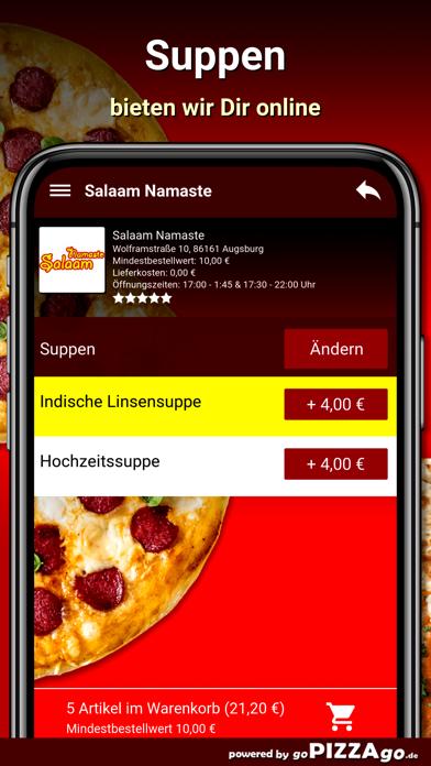 Salaam Namaste Augsburg screenshot 5