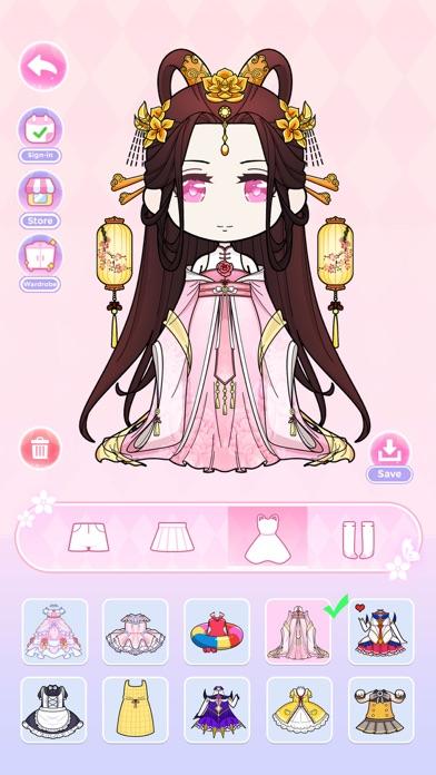 Anna Doll - Dress Up Game screenshot 2