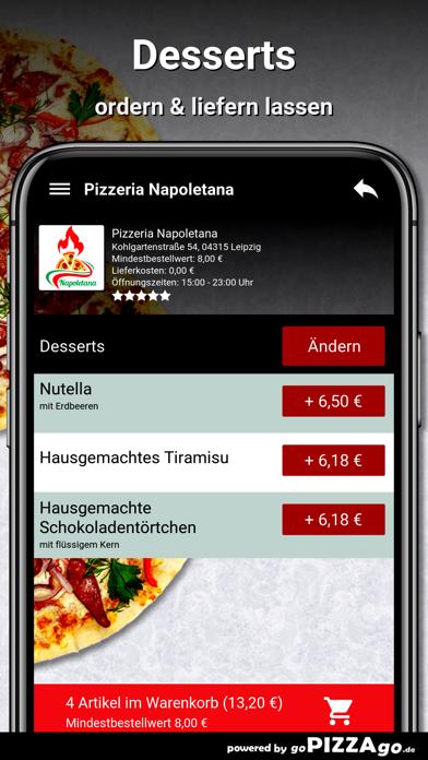 Pizzeria Napoletana Leipzig screenshot 6