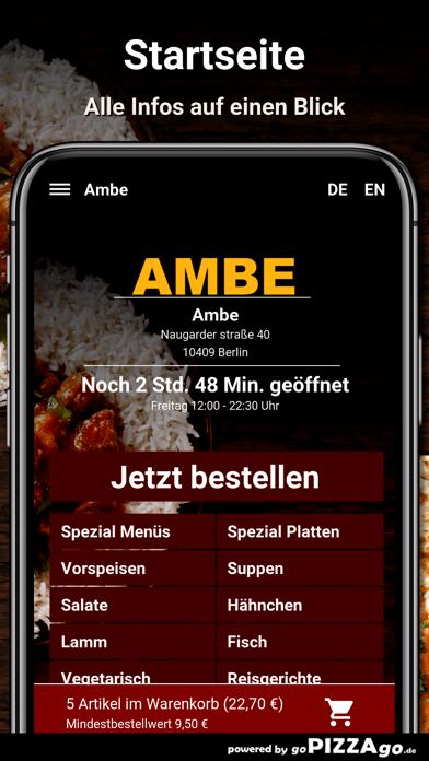 Ambe Berlin screenshot 2