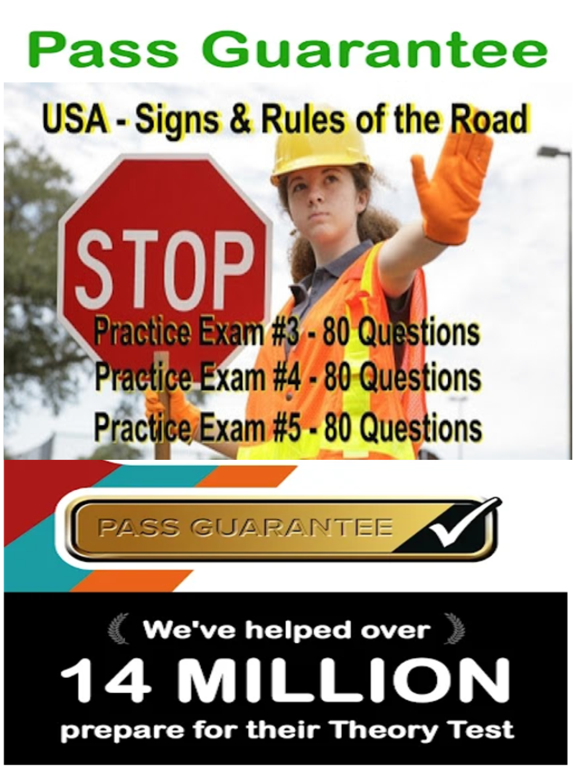 Practice Test USA & Road Signs screenshot 11