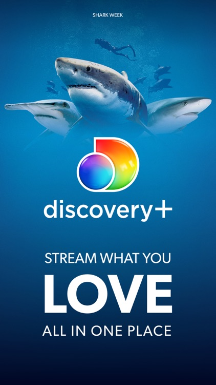 discovery+ | Stream Shark Week