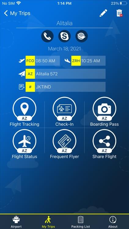Washington Airport Info +Radar screenshot-3