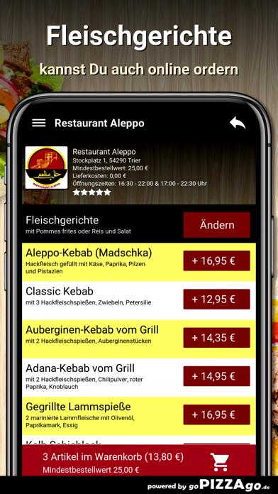 Restaurant Aleppo Trier screenshot 5