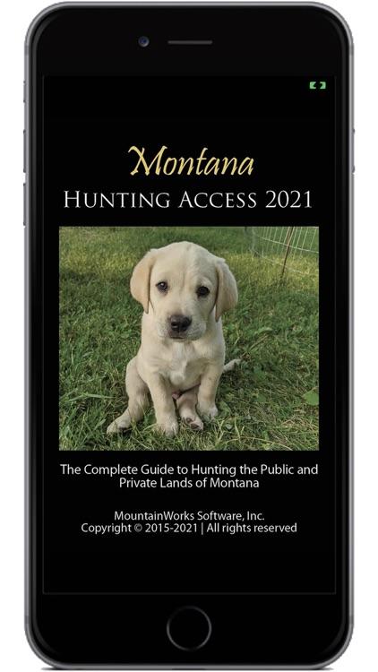 Montana Hunting Access 2021 screenshot-0
