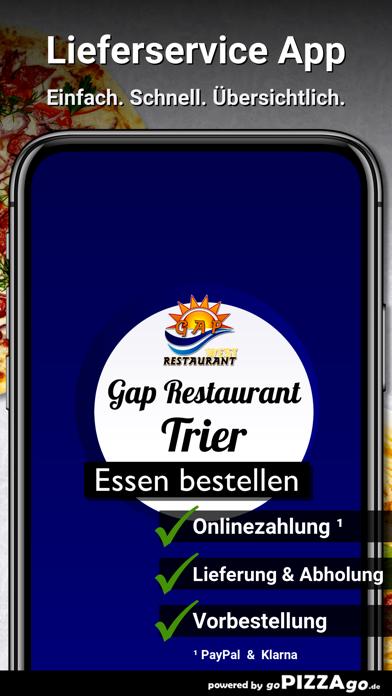 Gap Restaurant Trier screenshot 1