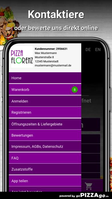 Pizza Florenz Kassel screenshot 3