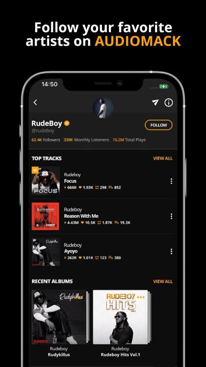 Audiomack - Download New Music screenshot-4