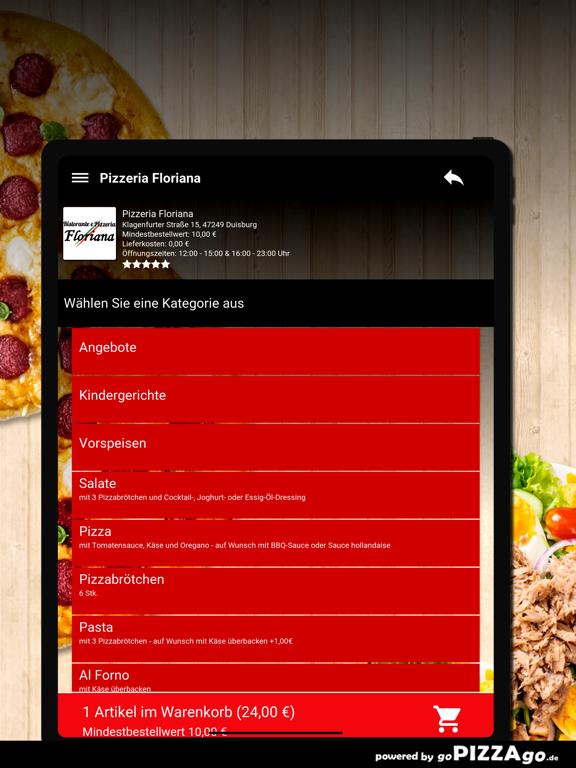 Pizzeria Floriana Duisburg screenshot 8