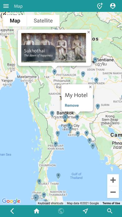 Thailand's Best: Travel Guide screenshot 4