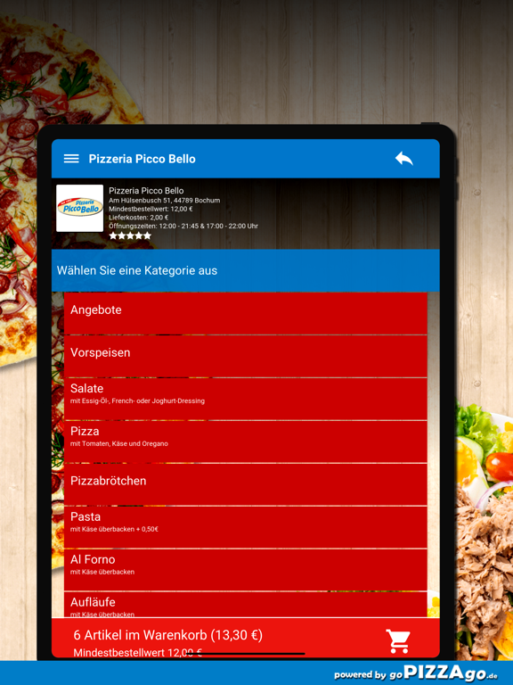 Pizzeria Picco Bello Bochum screenshot 8