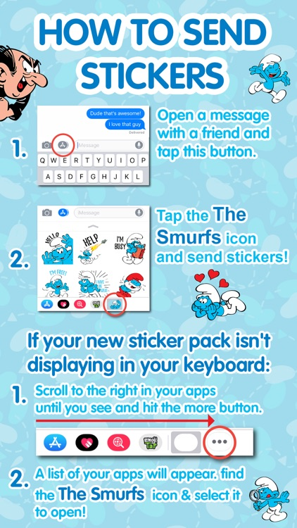 The Smurfs: Classic Stickers screenshot-4