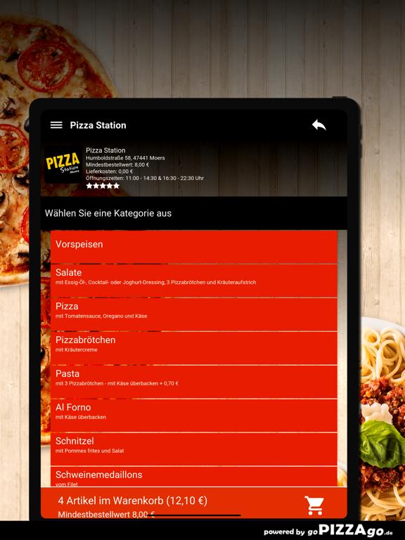 Pizza Station Moers screenshot 8