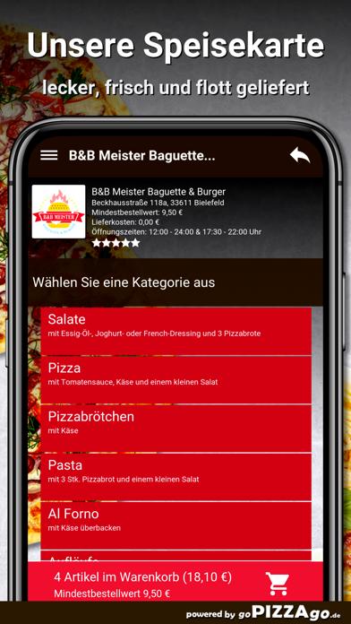 B&B Meister Baguette & Burger screenshot 4