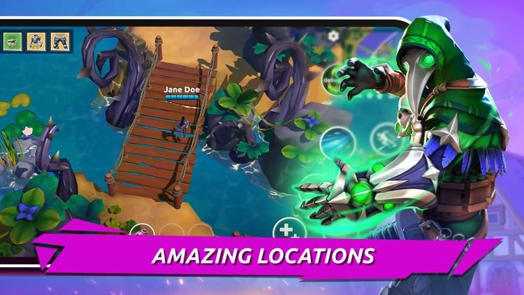 FOG - MOBA Battle Royale Arena screenshot-3