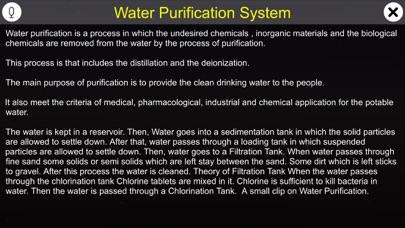 Water Purification System screenshot 1