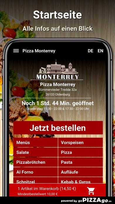 Pizza Monterrey Oldenburg screenshot 2
