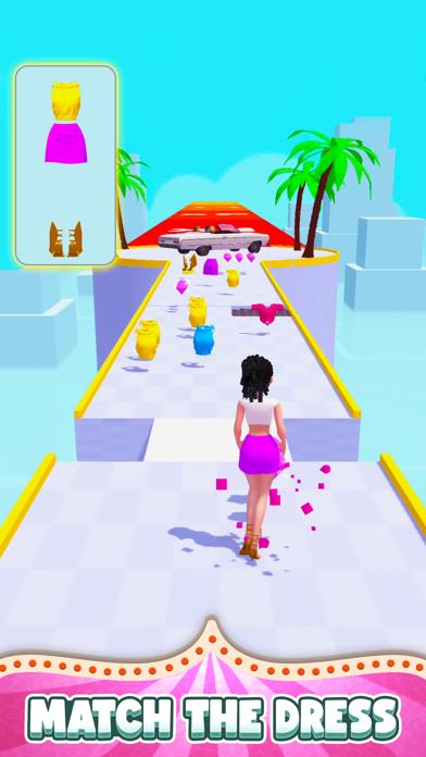 DressUp Run! screenshot 2