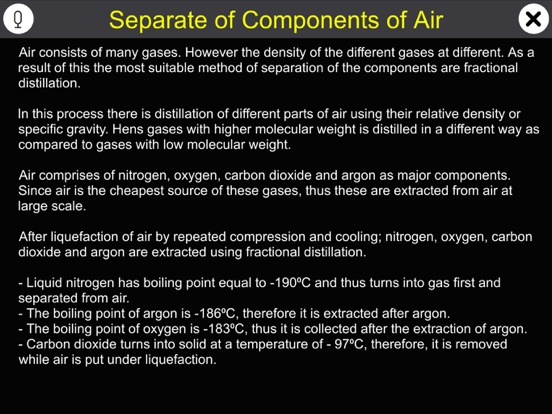 Separate of Components of Air screenshot 9