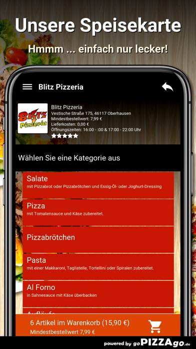 Blitz Pizzeria Oberhausen screenshot 4