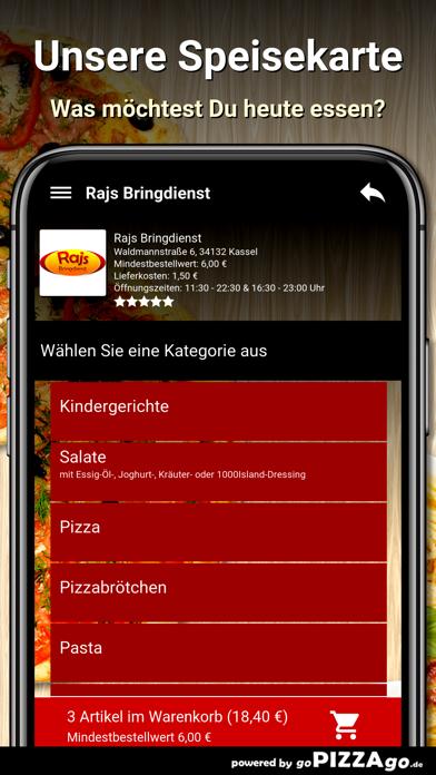 Rajs Bringdienst Kassel screenshot 4