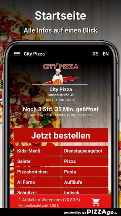 City Pizza Halle (Saale) screenshot 3