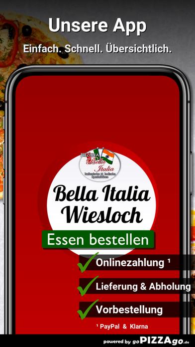 Pizzeria Bella Italia Wiesloch screenshot 1
