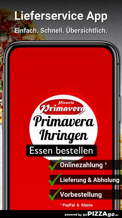 Pizzeria Primavera Ihringen screenshot 1