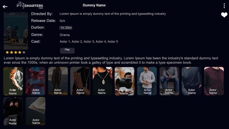 IPTV-Smarters Player screenshot-3