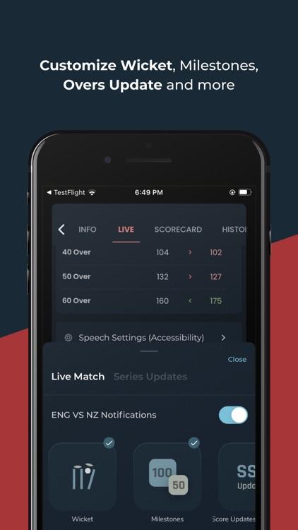 Cricket Exchange - Live Score screenshot-7