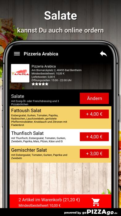 Pizzeria Arabica Bad Bentheim screenshot 5