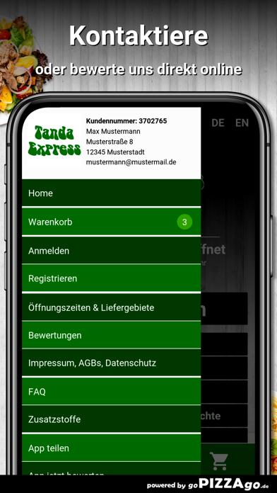 Tanda-Express Landshut screenshot 3
