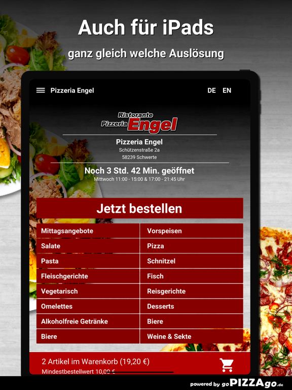 Pizzeria Engel Schwerte screenshot 7