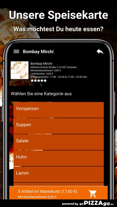 Bombay Mirchi Dresden screenshot 4