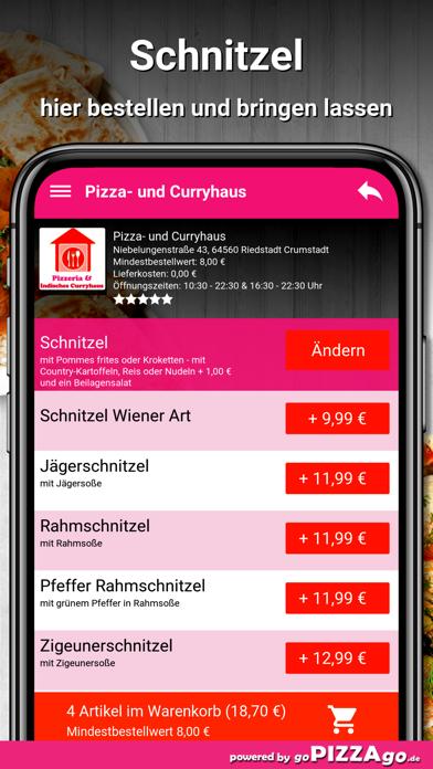 Pizza- und Curryhaus Riedstadt screenshot 6