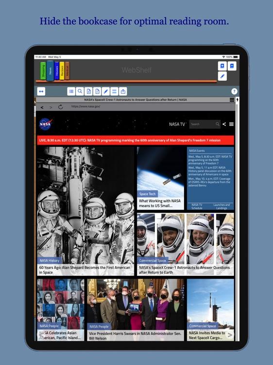 WebShelf screenshot-7